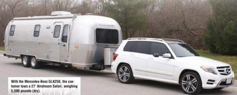 Post thumbnail for Hitch Hints: Towing Test: Mercedes GLK250 BlueTEC (42.3)