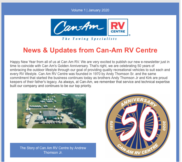 Post thumbnail for Stay in the loop with The Can-RV Centre Newsletter