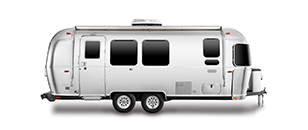 Airstream Travel Trailer Cutout